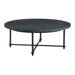 Baker Furniture - Round Cocktail Table -