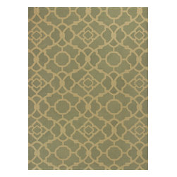 KAS - Kas Natura 2253 Ocean Athena Rug - 6 ft 6 in x 9 ft 6 in - Kas Natura 2253 Ocean Athena Area Rug. Kas Natura 2253 Ocean Athena Area Rug. Our KAS Natura rugs pump up Eastern Indian motifs for a colorful, casual look. These vivid works of art will add fun and function to your room setting in fresh, updated colorations. Natura rugs have been machine woven in India, ensuring the heavy-duty jute construction provides durability and rich texture for your active lifestyle. Each modern Natura rug is ready to make a wow-statement in your contemporary space.