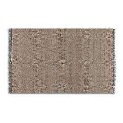Nalanda 5 X 8 Hand Woven Rug - Subtle Chevron - *Natural Jute And Cotton Chenille Hand Woven In A Subtle Chevron Pattern