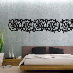 StickONmania - Abstract Plant Design #1 Sticker - A cool vinyl decal wall art decoration for your home  Decorate your home with original vinyl decals made to order in our shop located in the USA. We only use the best equipment and materials to guarantee the everlasting quality of each vinyl sticker. Our original wall art design stickers are easy to apply on most flat surfaces, including slightly textured walls, windows, mirrors, or any smooth surface. Some wall decals may come in multiple pieces due to the size of the design, different sizes of most of our vinyl stickers are available, please message us for a quote. Interior wall decor stickers come with a MATTE finish that is easier to remove from painted surfaces but Exterior stickers for cars,  bathrooms and refrigerators come with a stickier GLOSSY finish that can also be used for exterior purposes. We DO NOT recommend using glossy finish stickers on walls. All of our Vinyl wall decals are removable but not re-positionable, simply peel and stick, no glue or chemicals needed. Our decals always come with instructions and if you order from Houzz we will always add a small thank you gift.
