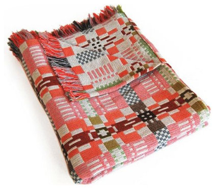 Eclectic Blankets by Design Within Reach