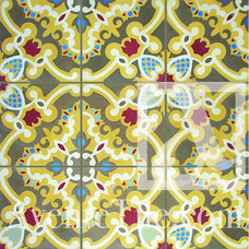 traditional floor tiles by Avente Tile