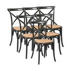 EuroLux Home - 6 Bentwood Dining Chairs Armless Side - Product Details