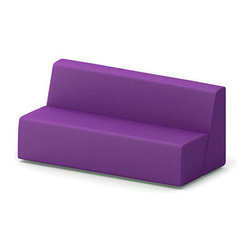 Turnstone - Steelcase - Campfire Big Lounge Purple - Bid adieu to the bored room.