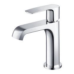 Fresca - Fresca Tusciano Single Hole Mount Bathroom Vanity Faucet - Chrome - Fresca Tusciano Single Hole Mount Bathroom Vanity Faucet - Chrome