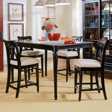 Contemporary Indoor Pub And Bistro Tables Camden Black Counter Height Table - 919-705