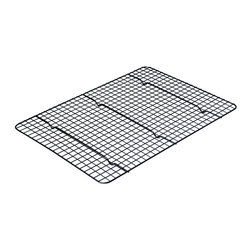 Chicago Metallic - Chicago Metallic Non-Stick Extra Large Cooling Rack Non-stick - Don't let your cookies get caught between the cracks. This extra large cooling rack takes care of cookies, batches of them. No stacking. No soggy bottoms. No breakage.