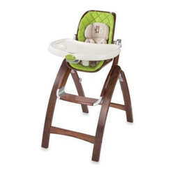 Summer Infant - Summer Infant  Bentwood High Chair - With a wood finish that complements any home décor, this high chair is safe for baby and perfect for your style. It offers a 3-position recline, front adjustable tray with removable dishwasher safe tray and a 5-point harness system.