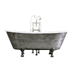"Penhaglion - The Colchester 68"" Cast Iron French Bateau Tub Package from Penhaglion - Product Details"