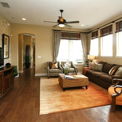 traditional family room by David Weekley Homes