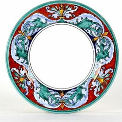 Artistica - Hand Made in Italy - ROYALE: Salad Plate - Royale Deruta Dinnerware collection: