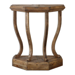 "Uttermost - Wood Icess 30""W Reclaimed Fir Console Table - Wood Icess 30""W Reclaimed Fir Console Table"