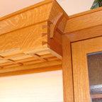 Cabinet details make all the differene....Splurge -