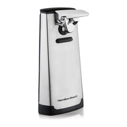 Hamilton Beach - Hamilton Beach 76700 Stainless Steel Can Opener/ Knife Sharpener - The Hamilton Beach can opener has a built-in knife sharpener for ease and convenience. The extra tall design makes opening larger cans fast and easy.
