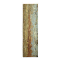 Grace Feyock - Grace Feyock Red Clay Canvas Wall Art / Wall Decor X-03223 - Tranquil, earth tone colors are used in creating this hand painted artwork on canvas. The canvas is stretched and attached to wood stretching bars. Due to the handcrafted nature of this artwork, each piece may have subtle differences.
