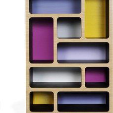 contemporary storage units and cabinets by CoucouManou