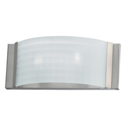 Quorum International - Quorum International 5783-65 Satin Nickel Wall Sconce - Quorum International 5783-65 Nickel Wall Sconce