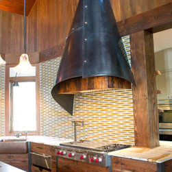 New Works from Oak hill Iron - Fabulous Steel and Cooper Hood hand forged and thoughtfully designed by Oak Hill Iron.