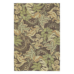 "Kaleen Rugs Inc. - Home And Porch 7'9"" x 7'9"" Round Transitional - Home & Porch Coffee Bluff 2012-51-Coffee 7.9 x 7.9"