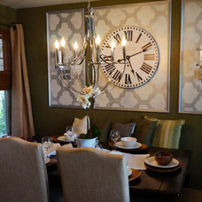 Modern Dining Room by Beauti-Faux Finishes