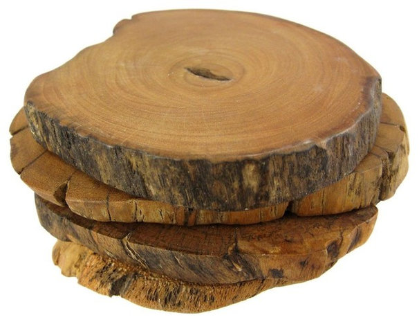 Rustic Coasters by Amazon