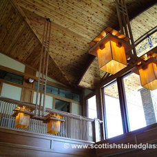 Modern Lamp Shades by Scottish Stained Glass