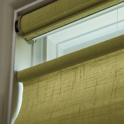 Hunter Douglas Vignette® Roman Shades Top Down Bottom Up - Hunter Douglas Vignette® Roman Shades are now available in Top Down Bottom Up. All Roman Shades also come with a fabric wrapped head rail for finished, clean look.