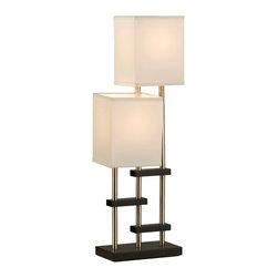 Nova Lighting - Nova Lighting 1010102 Progressions Table Lamp - Nova Lighting 1010102 Progressions Table Lamp