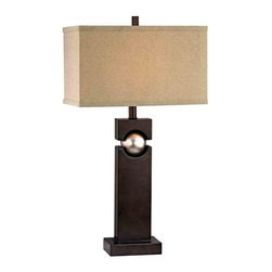 Dolan Designs - Dolan Designs 15041-127 Western Bronze Table Lamp - Dolan Designs 15041-127 Western Bronze Table Lamp