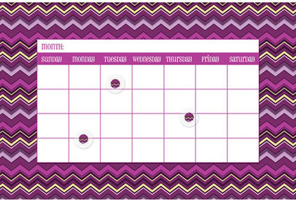 Contemporary Bulletin Boards And Chalkboards by Calendars