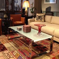 Decor NYC Weekly Design Discovery - Vanilla Microsuede Sofa by Designlush