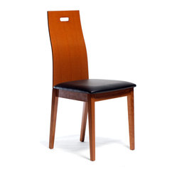 Haline Dining Chair, Cherry, Set of 2