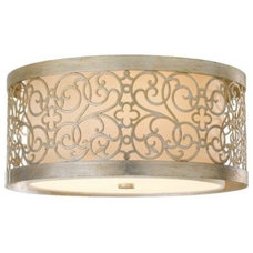 bathroom lighting and vanity lighting Arabesque Flushmount by Murray Feiss - OPEN BOX RETURN