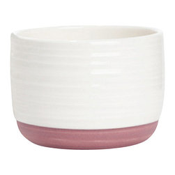 White Contemporary Tableware Bowl, Small, Green - Simple and functional small ceramic bowl. They are easy to mix with the other dinnerware of the collection