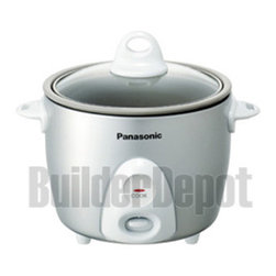 PANASONIC - PANASONIC SRG06FG SILVER RICE COOKER STEAMER 3.3CUP NON STICK - Panasonic SRG06FG/Rice COOKR-Steamer/3.3 Cups
