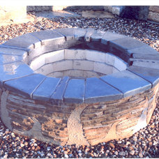 Modern Fire Pits by Sturgis Material Inc