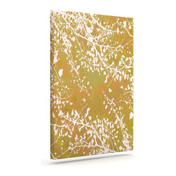 "Kess InHouse - Iris Lehnhardt ""Twigs Silhouette Neutral"" Earthy Wrapped Art Canvas (24"" x 20"") - Bring your outdoor patio to life with this artistic outdoor canvas wrap featuring gorgeous artwork by KESS InHouse. These canvases are not only easy to hang and remove but also are the perfect addition to your patio collection. These canvases are stretched around a wooden frame and are built to withstand the elements and still look artistically fabulous. Decorating your patio and walls with these prints will add the splash of art and color that is needed to bring your patio collection together! With so many size options and artwork to choose from, there is no way to go wrong with these KESS Canvas Wraps!"