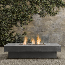 Laguna Concrete Propane Fire Table - Rectangle | Fire Tables & Columns | Restora