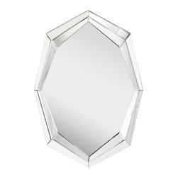 Kichler Lighting - Kichler Lighting 78190 Asher Transitional Mirror - This tasteful Asher™ mirror features a clean, clear finish and Beveled White Glass to create a versatile accent fitting for any space in your home.