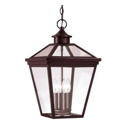 Illumine - Illumine 4 -Light Hanging Lantern English Bronze Finish Clear Glass CLI-SH202852 - Shop for Lighting & Fans at The Home Depot. The Satin Collection supplied by Commercial Lighting Industries is the leading line in elegance. From the sumptuous chandeliers to the exquisite decorative outdoor lighting, the Satin collection tastefully indulges your extravagant side. Whether you're looking for chandeliers, wall-lighting, pendants, ceiling fans, or decorative outdoor lighting, the Satin Collection offers a classy solution that is sure to satisfy all of your lighting needs.