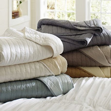 traditional shams by Pottery Barn