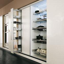 pantry wall - pantry wall ,internal option,pullout ,sliding doors