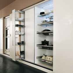pantry wall - pantry wall ,internal option,pullout ,sliding doors