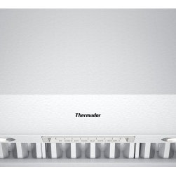 Thermador - 36 inch Professional Series 27 inch Deep Wall Hood PH36GS - No need to worry about lingering odors or smoke with these elegant ventilation systems offering powerful three fan speed and delayed shut off tackling lingering odors for up to ten minutes.  And cleaning your filters has never been easier with the simple and quick removable dishwasher-safe baffle filters and grease collection trays.
