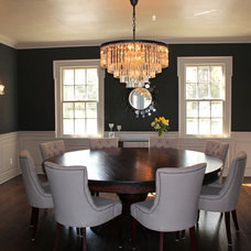 Contemporary Dining Room by House of Cline Design