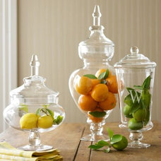 Traditional Bathroom Canisters by Williams-Sonoma