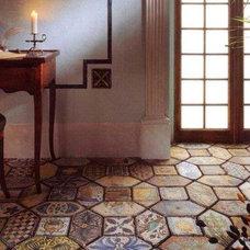 Mediterranean Floor Tiles by ITALIAN DECORATIVE ART by Romeo Cuomo