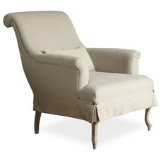 Transitional Armchairs And Accent Chairs by Kathy Kuo Home