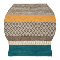 Gandia Blasco - Patricia Urquiola - MF1 Farol Wool Rug - Gandia Blasco - All of the modern rugs by Gandia Blasco are Goodweave certified and the perfect addition to any room in your home. Yarn composition: 100% New Wool. Hand loomed. Designed by Patricia Urquiola.