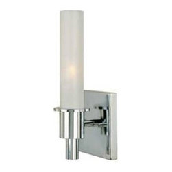 Belle Foret - Belle Foret BF782108 Luray Collection Wall Sconce Light in Chrome - HDModel:WI78 - Belle Foret BF782108 Luray Collection Wall Sconce Light in Chrome - HDModel:WI782108The Belle Foret collection includes a full range of kitchen and bath faucets, copper basins, bathtubs, and bath vanities in timeless finishes to perfectly complement any décor. True to the Country French design, these distinctively elegant faucets and fixtures are graced by the rich patina of time - without the wait or expense.Illuminate the inside of your home with this modern chrome wall sconce. This uniquely designed fixture combines decorative elements that will coordinate with many home styles and textures.Belle Foret BF782108 Luray Collection Wall Sconce Light in Chrome - HDModel:WI782108, Features:• Chrome finish